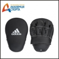 "ЛАПЫ FOCUS MITT LEATHER 10"" ЧЕРНЫЕ ADIBAC012"