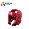 Шлем для тхэквондо Head Guard Dip Foam WTF красный adiTHG01