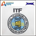 ФОРМА ДЛЯ ТХЭКВОНДО (ДОБОК) ITF WHITE BELT CLUB KHAN (100-160)